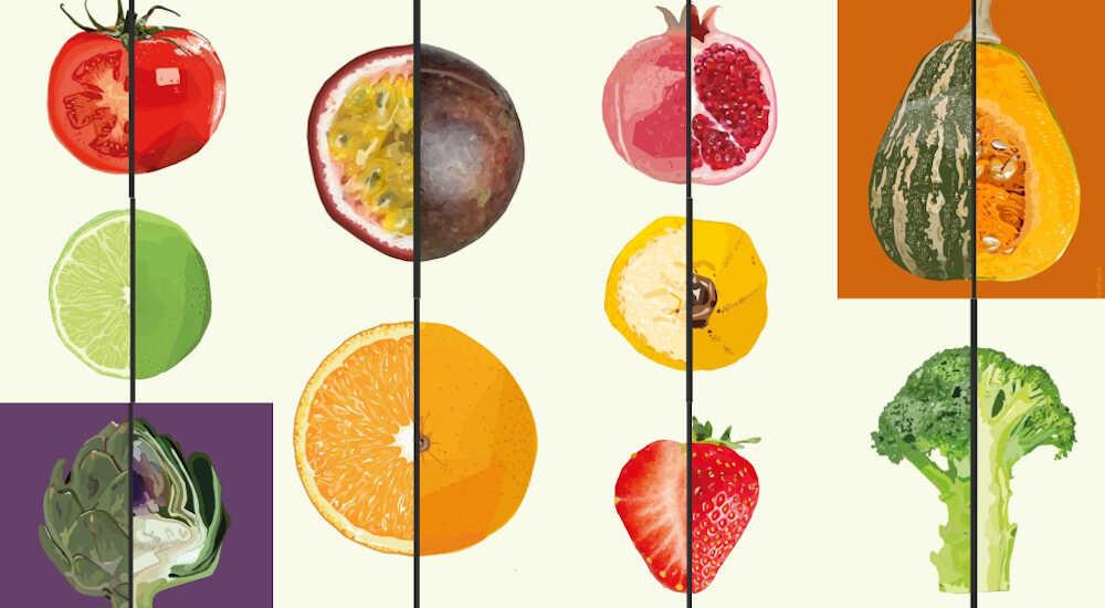 frugt-&-grønt-collage